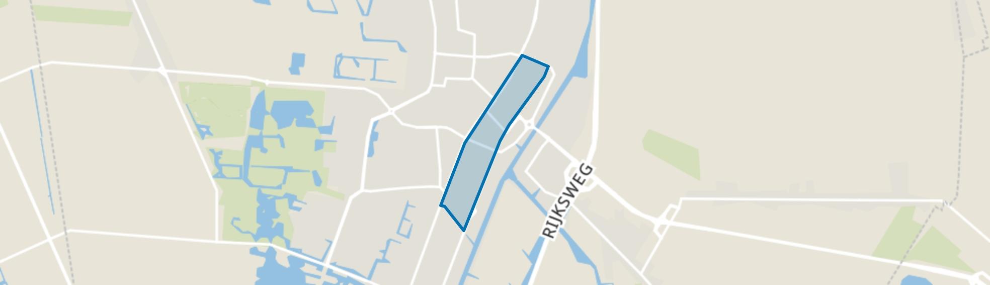 Veendam en omgeving station, Veendam map