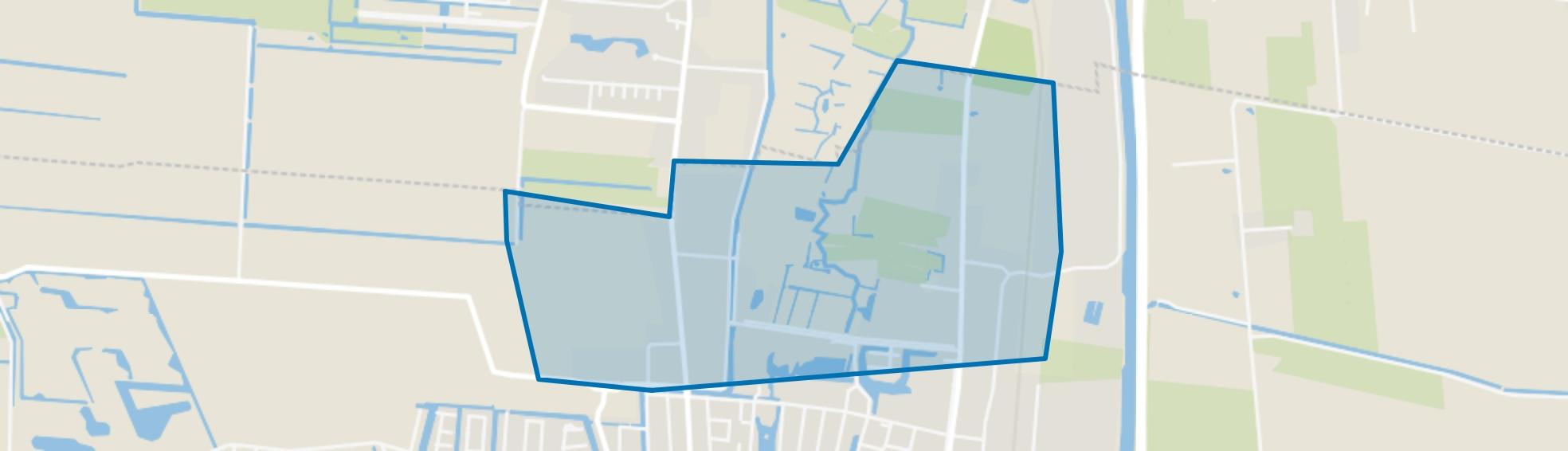 Veendam-Middenweg en omgeving, Veendam map