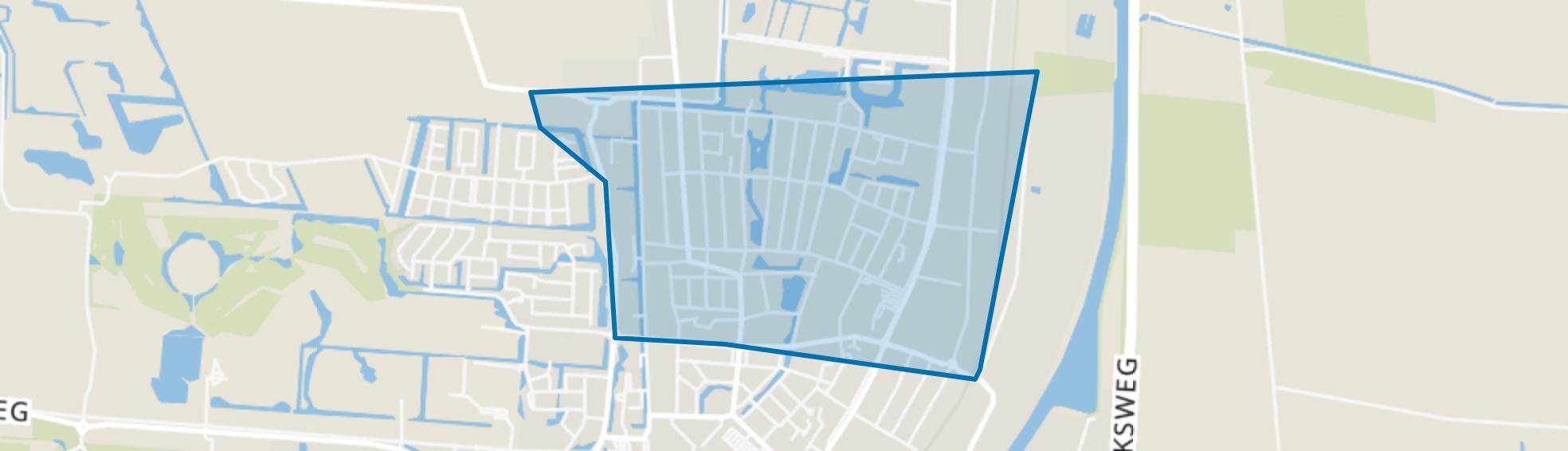 Veendam-Oude Ae, Veendam map