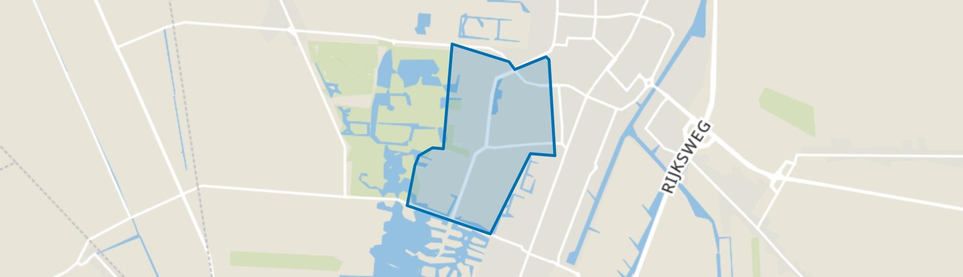Veendam-Sorghvliet, Veendam map