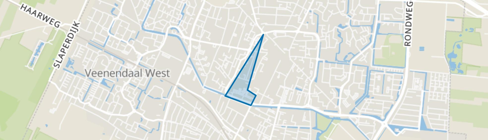 Beatrixstraat en omgeving, Veenendaal map