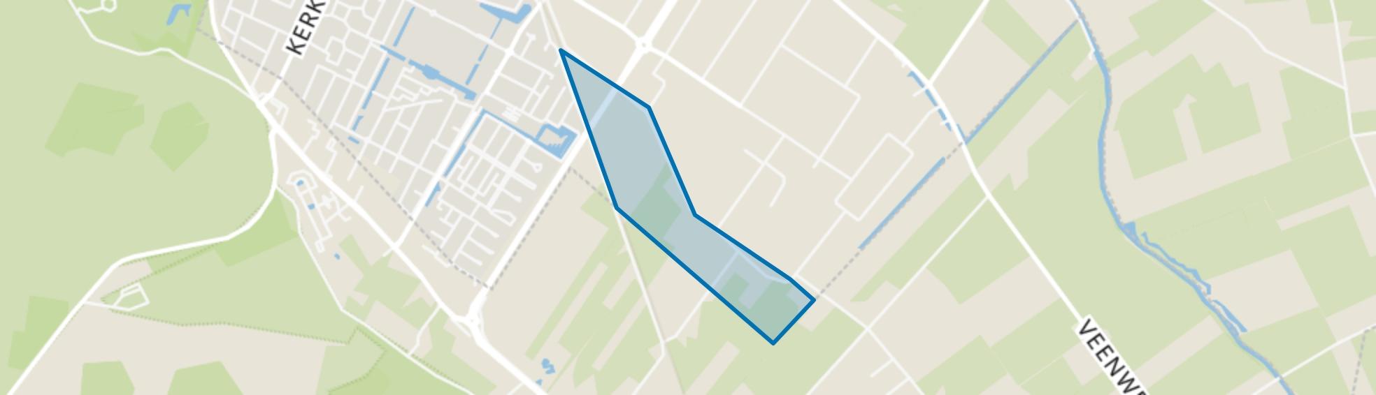 Bezuiden de Middelbuurtseweg, Veenendaal map