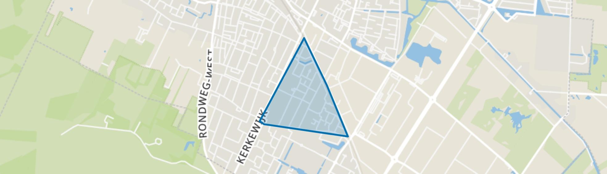 Boslaan en omgeving, Veenendaal map