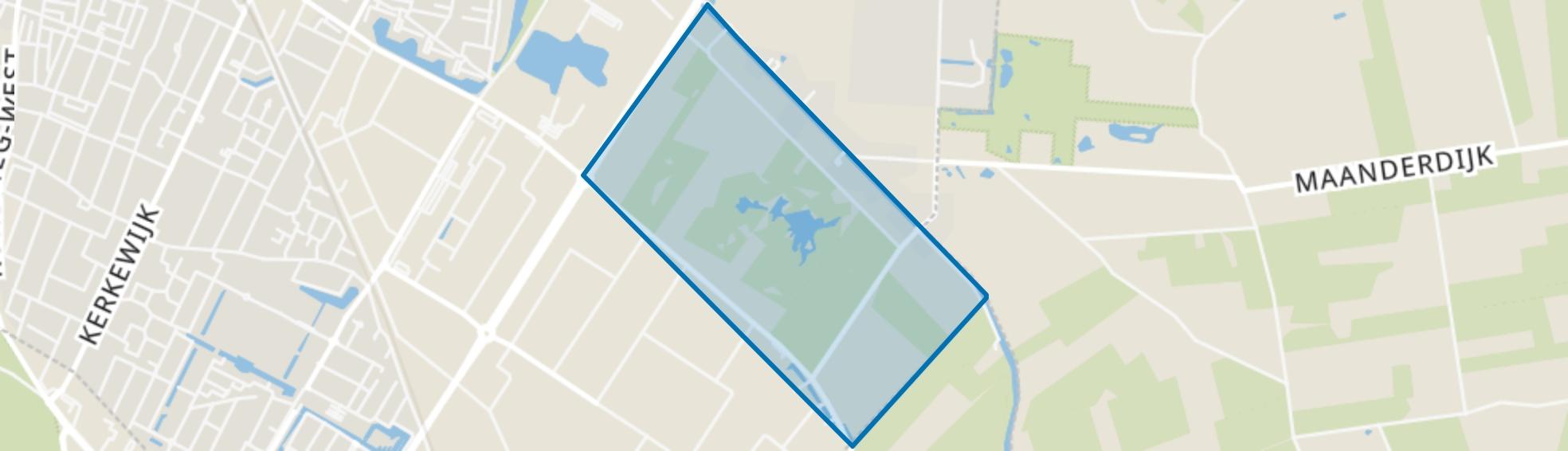 De Blauwe Hel, Veenendaal map