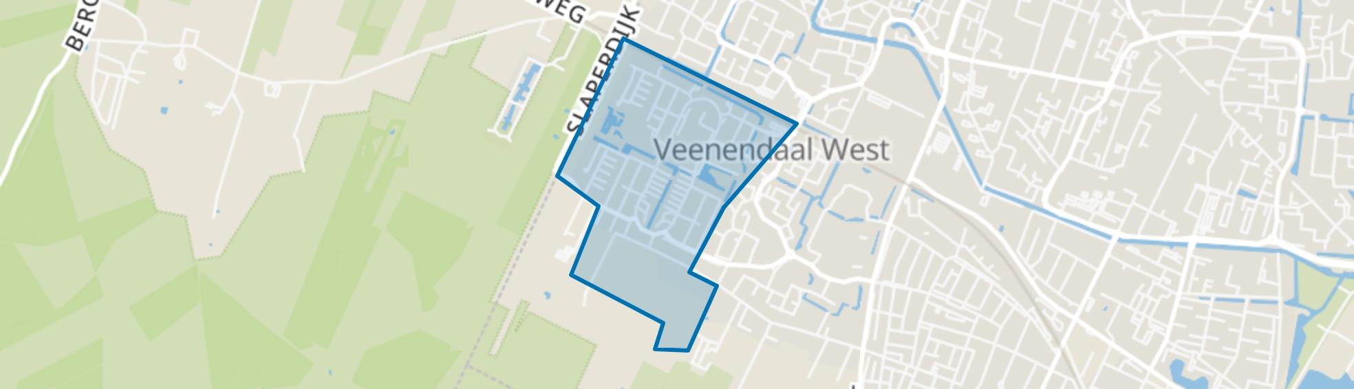 Dichtersbuurt, Veenendaal map