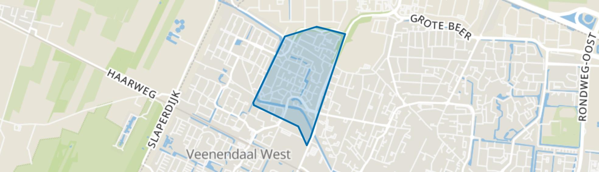 Oudeveen en De Schans en omgeving, Veenendaal map