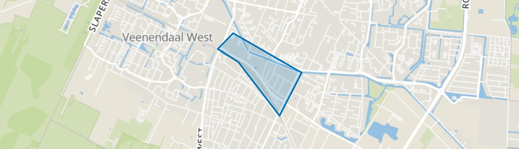 't Goeie Spoor en omgeving, Veenendaal map