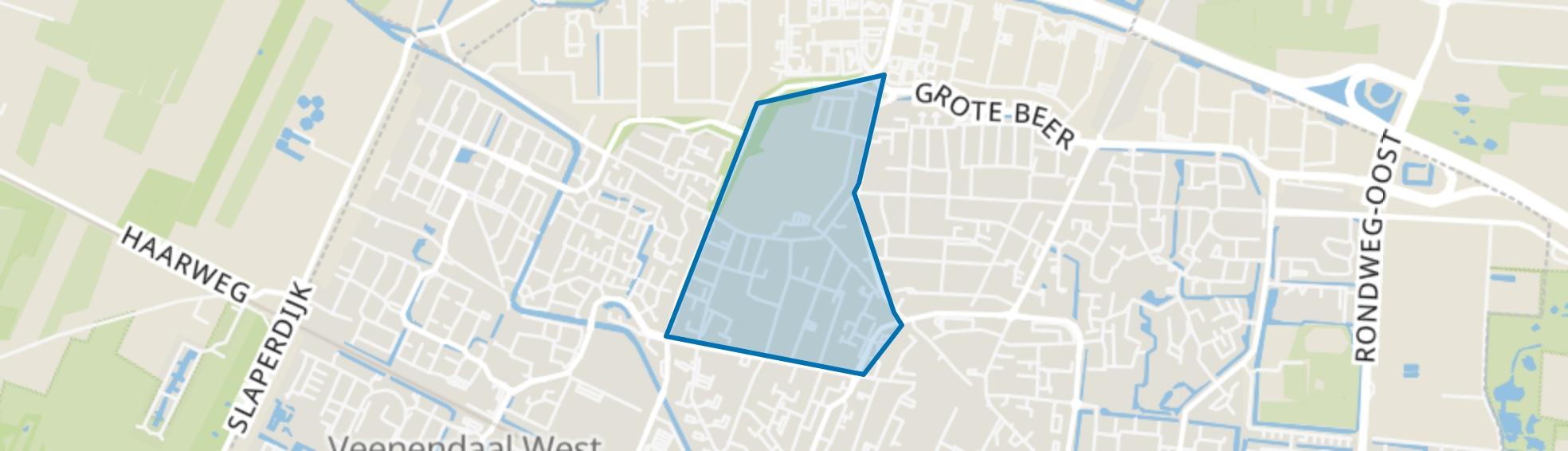 't Hoorntje, Veenendaal map