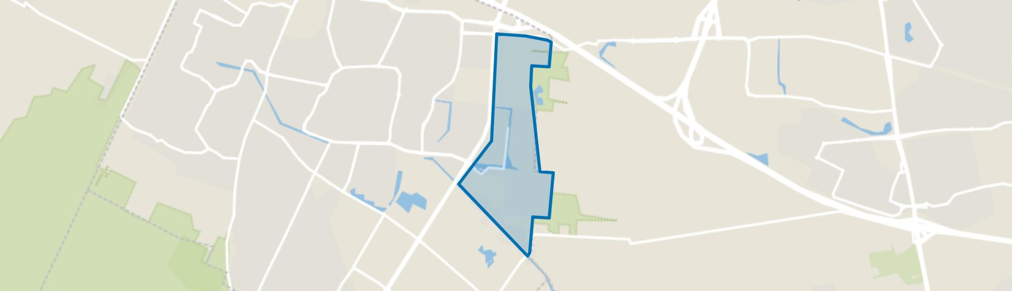 Veenendaal-Oost, Veenendaal map
