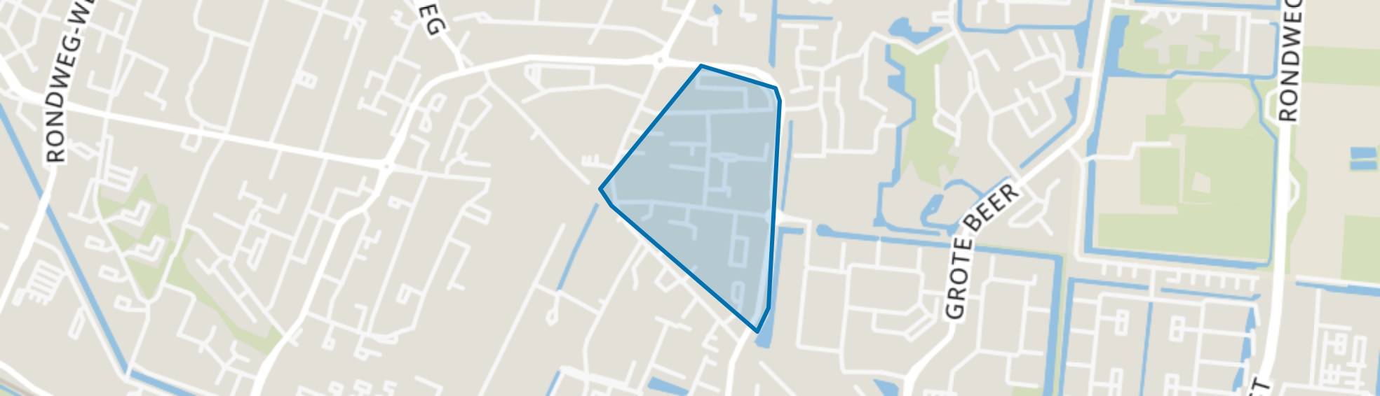 Vijgendam en omgeving, Veenendaal map