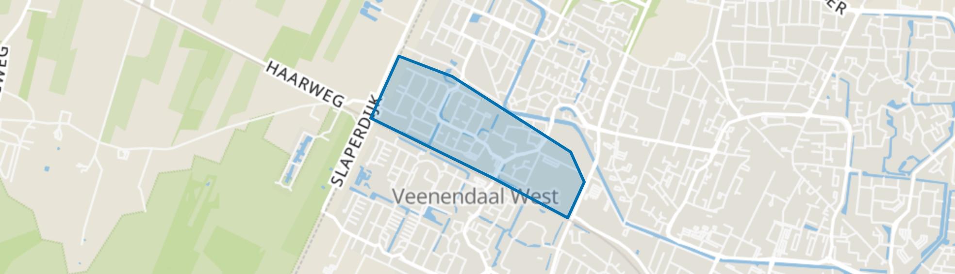 Vogelbuurt, Veenendaal map