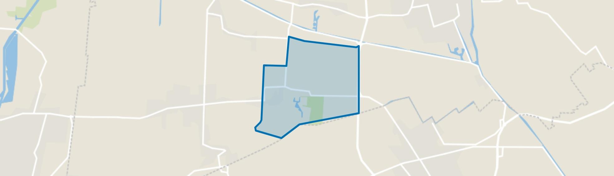 Veenklooster, Veenklooster map