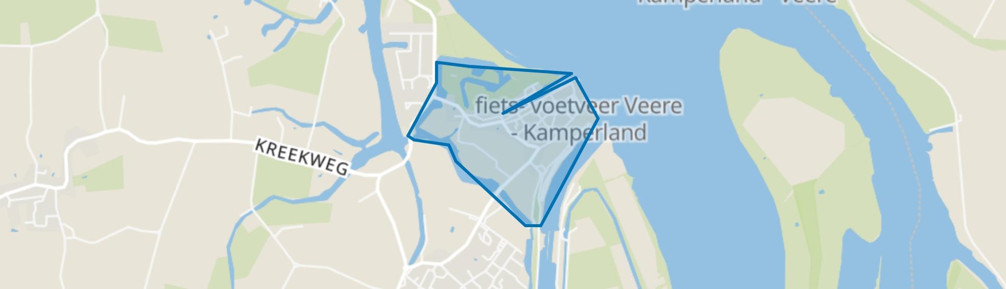 Veere, Veere map