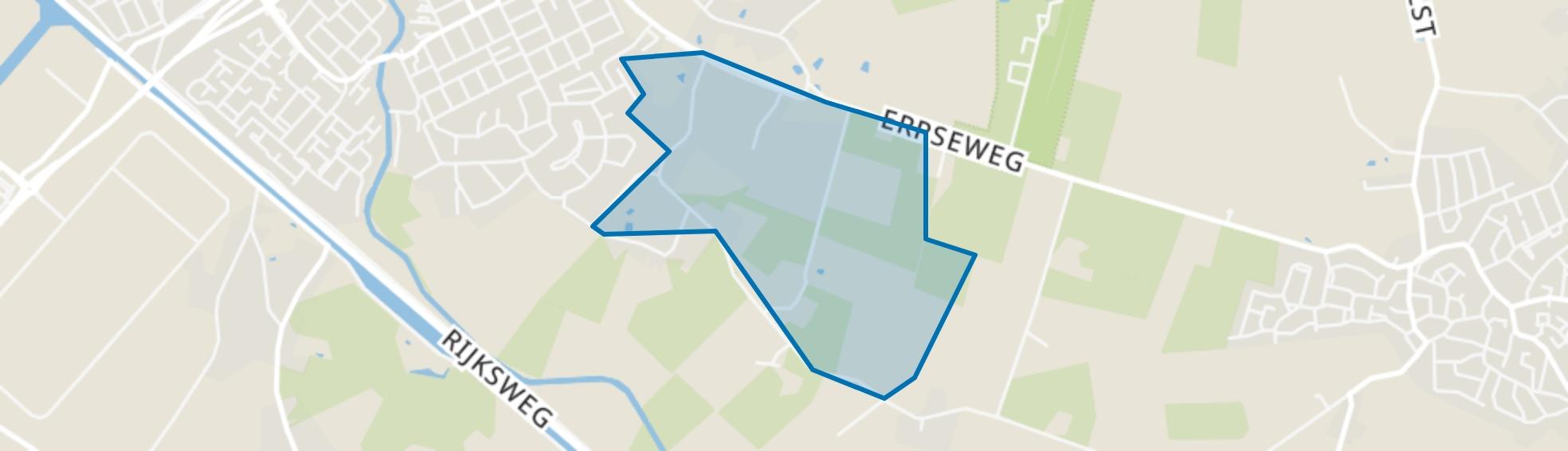 Erpseweg Zuid, Veghel map