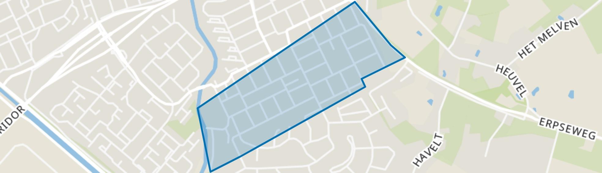 Veghel Zuid 2, Veghel map