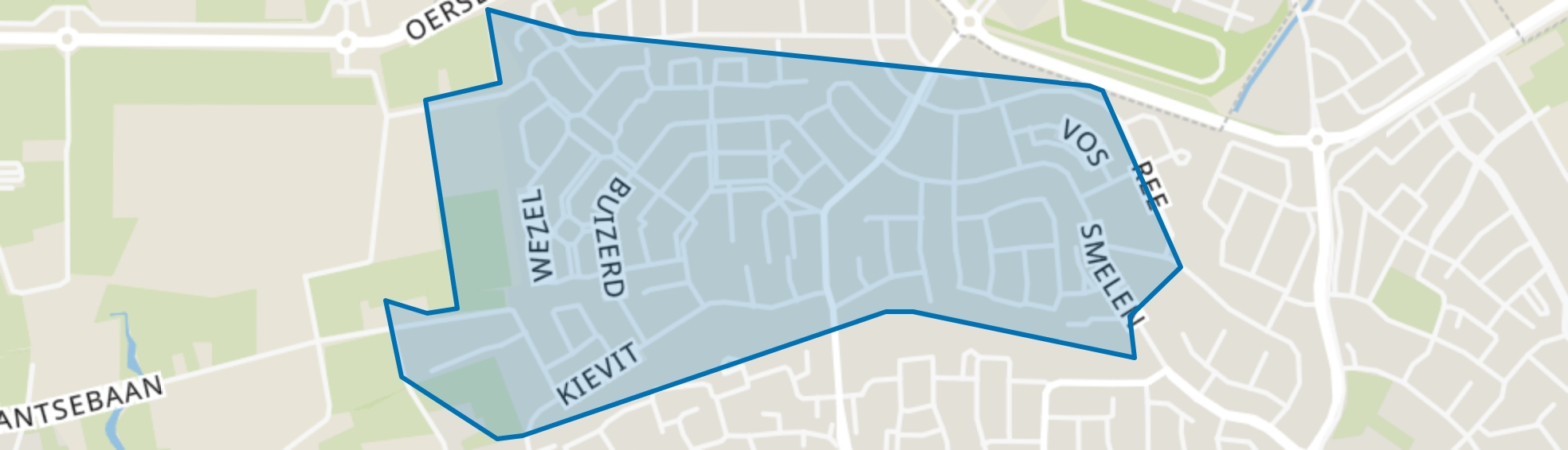 De Kelen, Veldhoven map