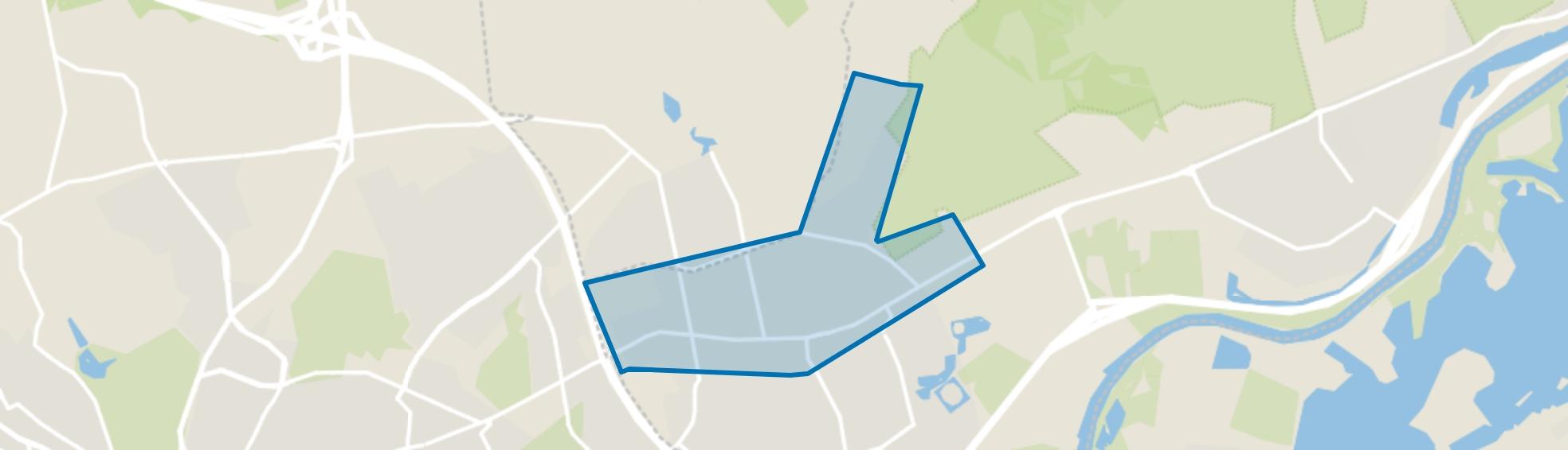Velp-Noord boven spoorlijn, Velp (GE) map
