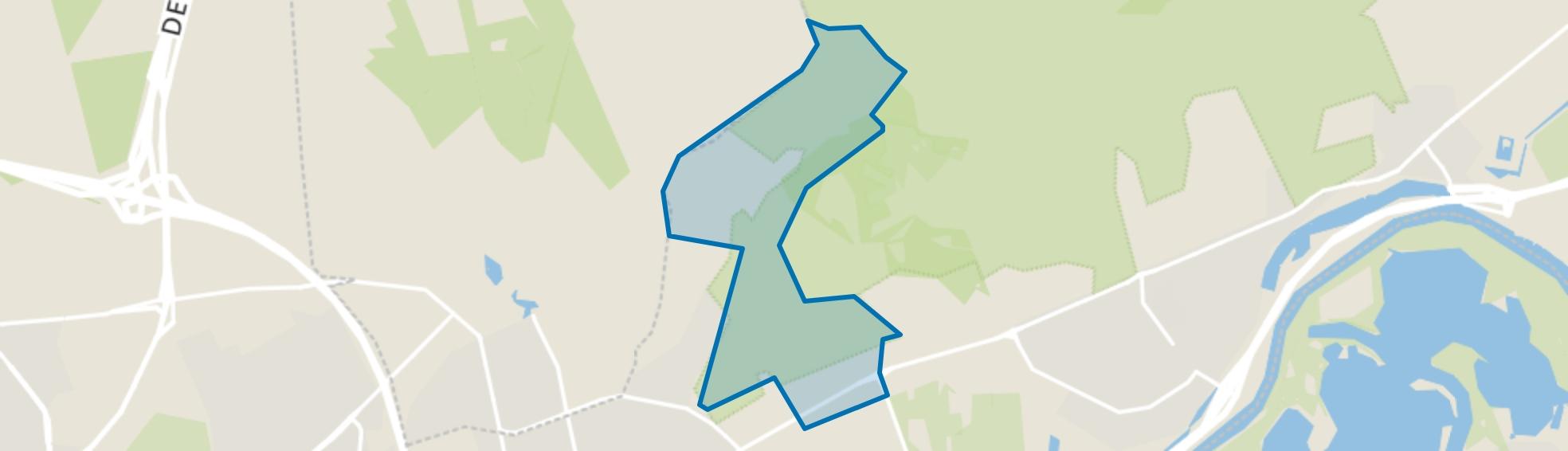Verspreide huizen Velp-Noordoost, Velp (GE) map
