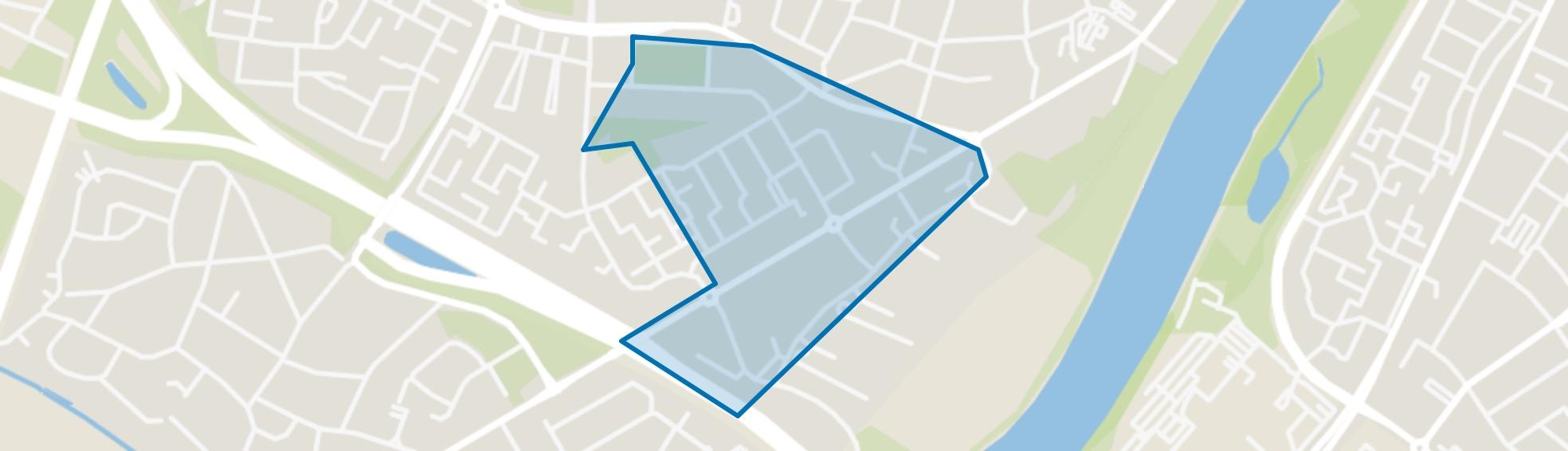Annakamp-Oost, Venlo map