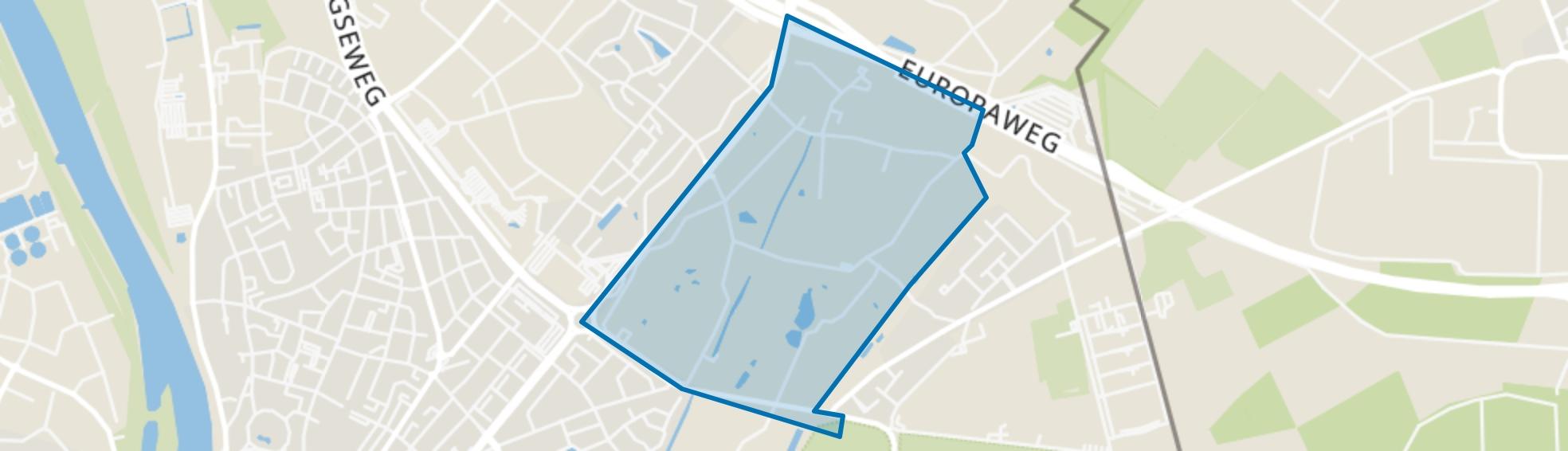 Arenborg, Venlo map