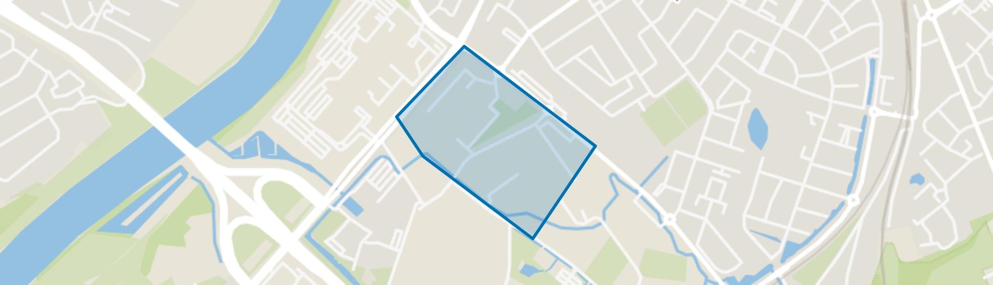 bedrijventerrein Hagerhof, Venlo map