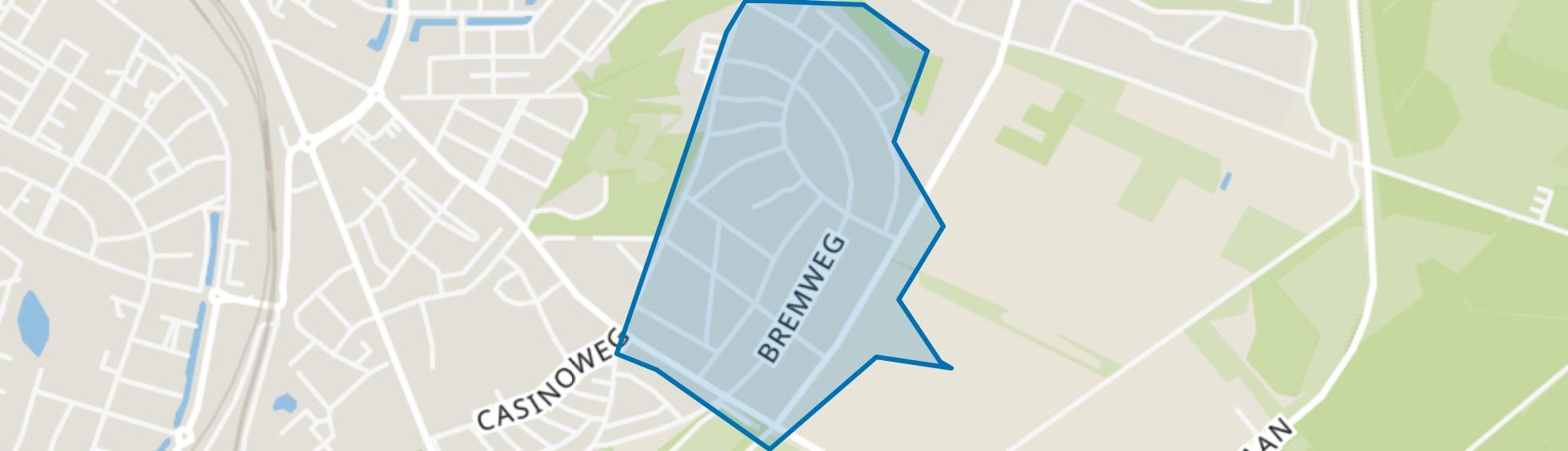 Bloemenbuurt, Venlo map