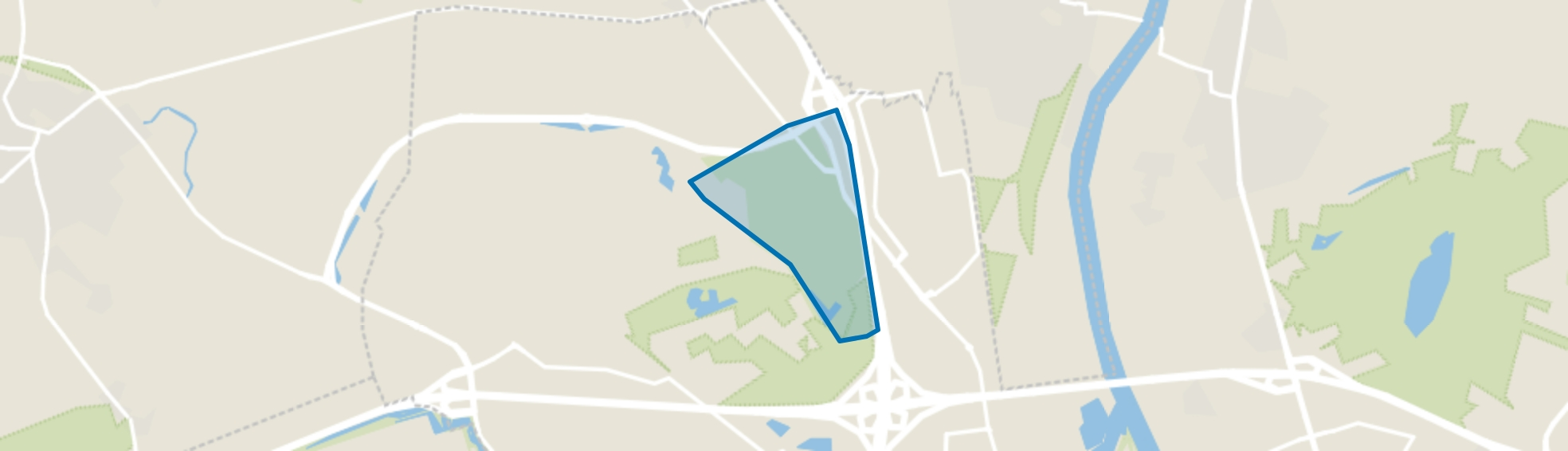 Floriade Park, Venlo map