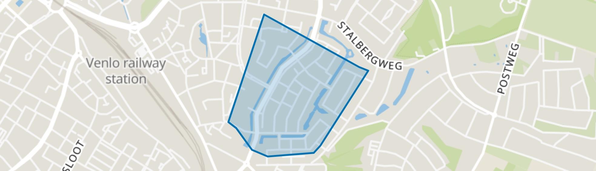 Groeneveld, Venlo map