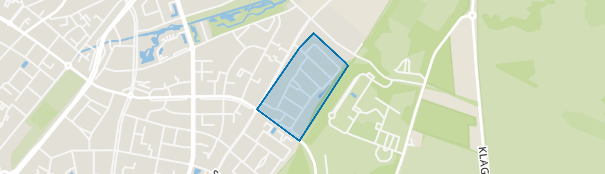 Groenstraat-Noord, Venlo map