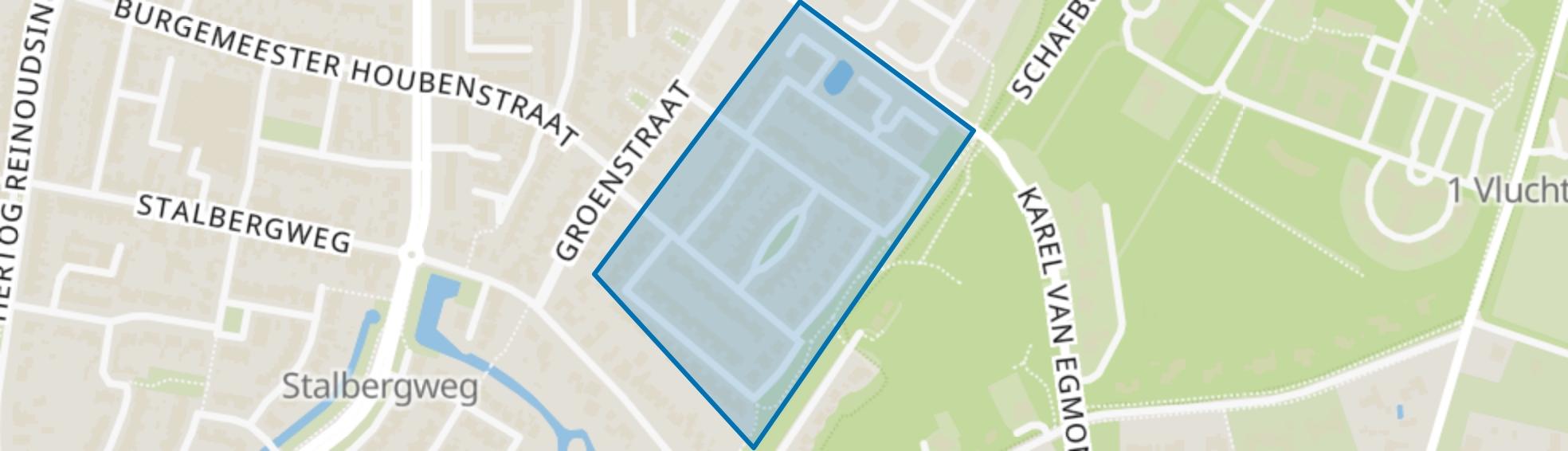 Groenstraat-Zuid, Venlo map