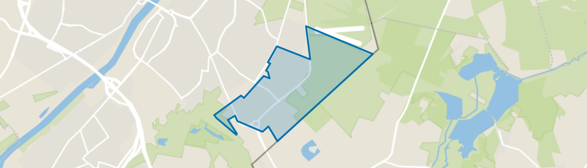 Grote Hei, Venlo map