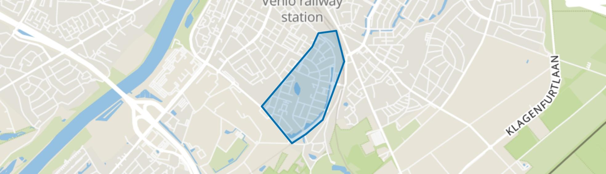 Hagerbroek, Venlo map