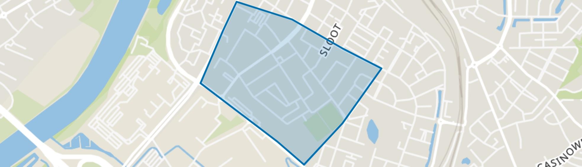 Hagerhof-oost, Venlo map
