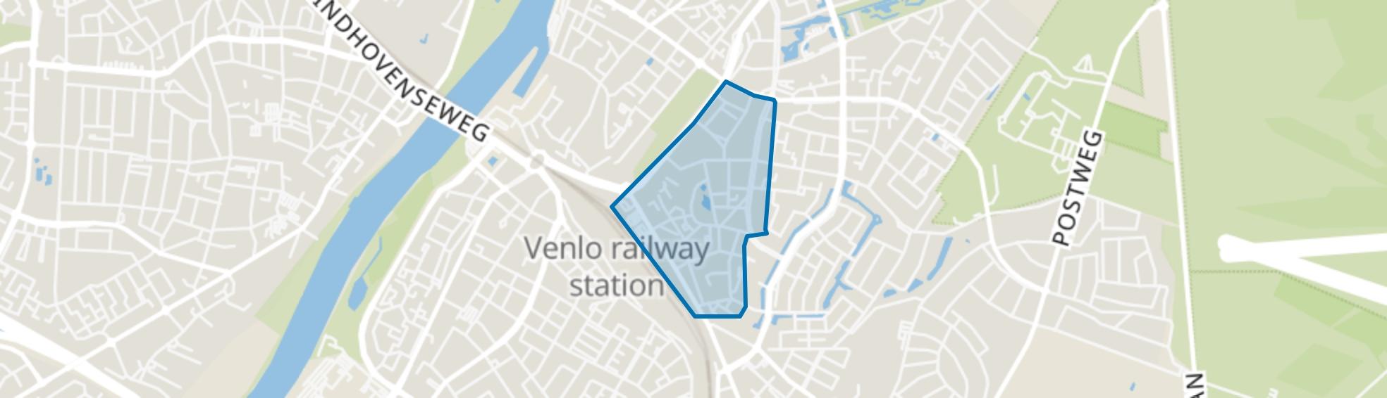 Hogekamp, Venlo map