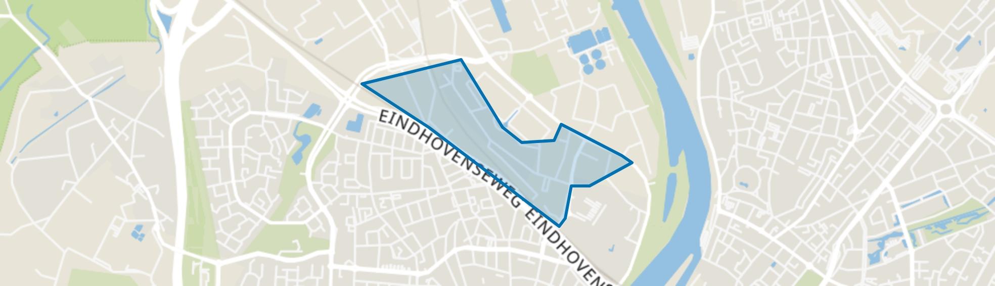 Horsterweg, Venlo map