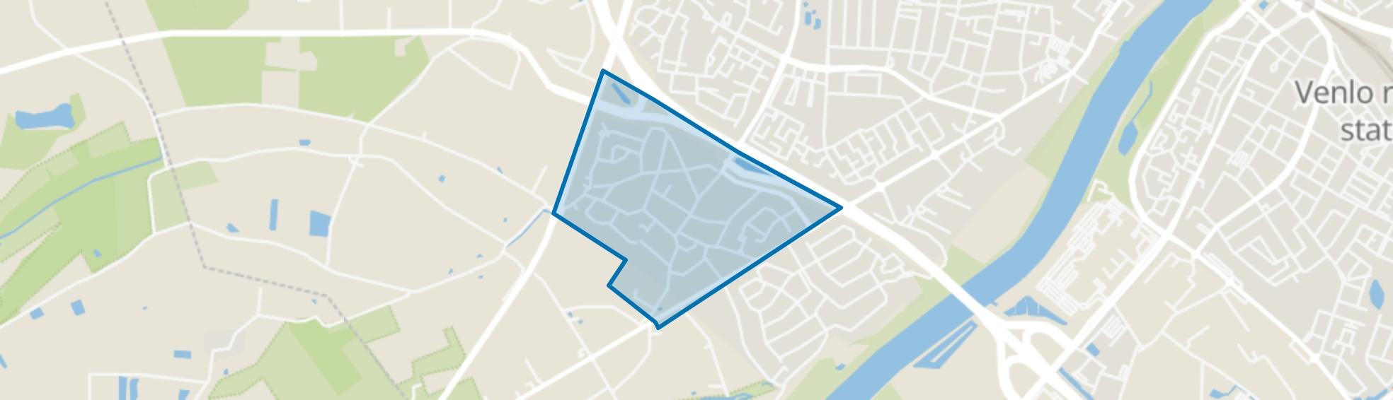 Kern Hout-Blerick, Venlo map