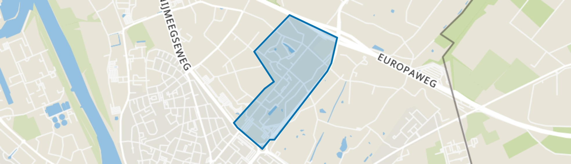 Kern 't Ven, Venlo map