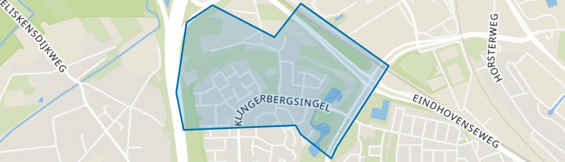 Klingerberg-Noord, Venlo map