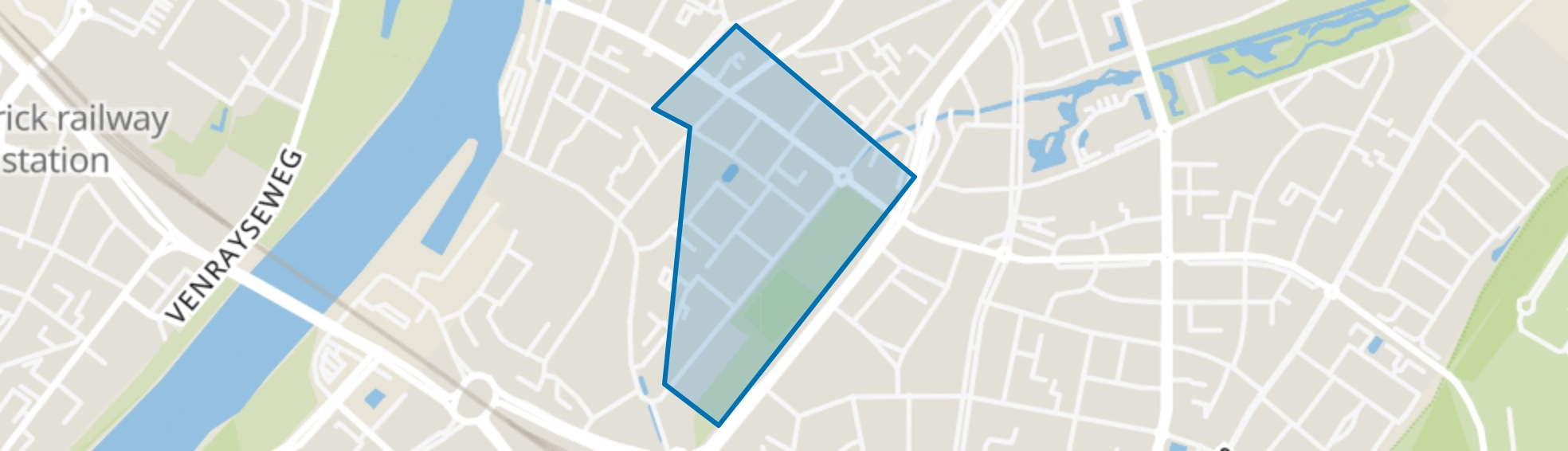 Rosarium, Venlo map
