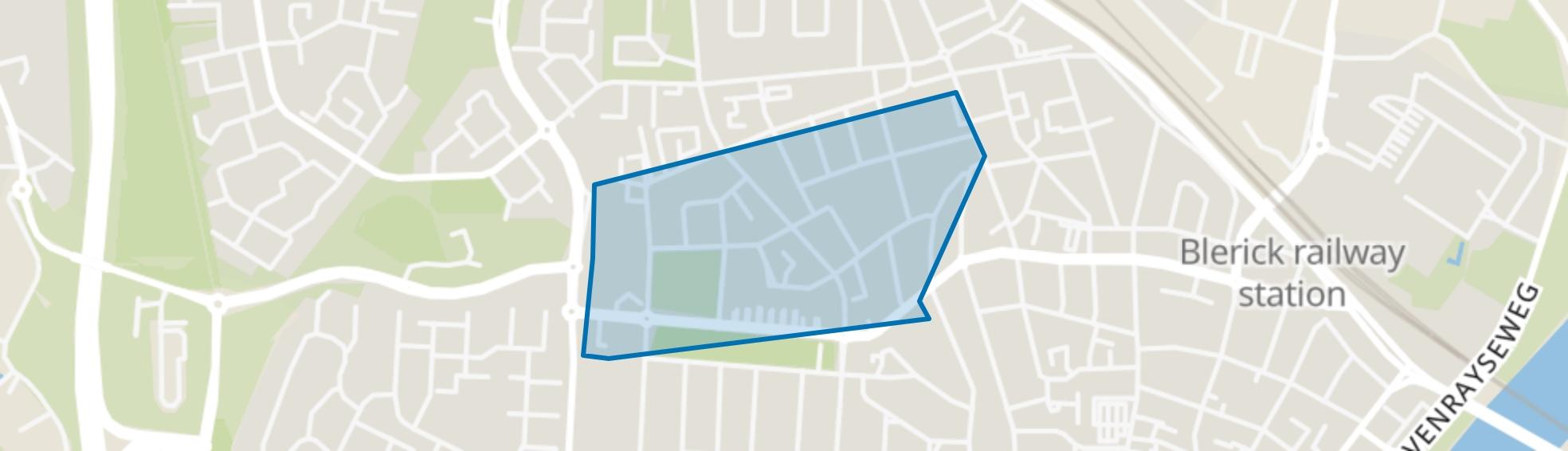 Vastenavondkamp-Zuid, Venlo map