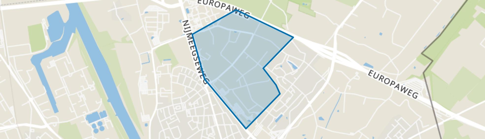 Veegtes, Venlo map
