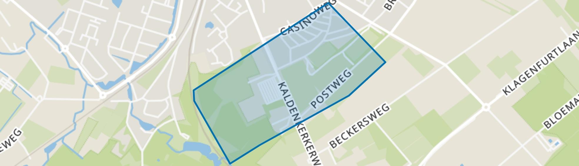 Vogelbuurt, Venlo map