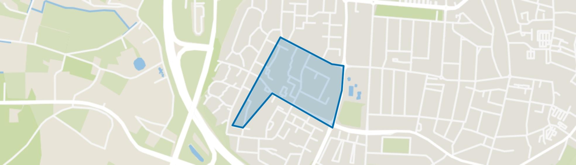 Vossener-Centrum, Venlo map