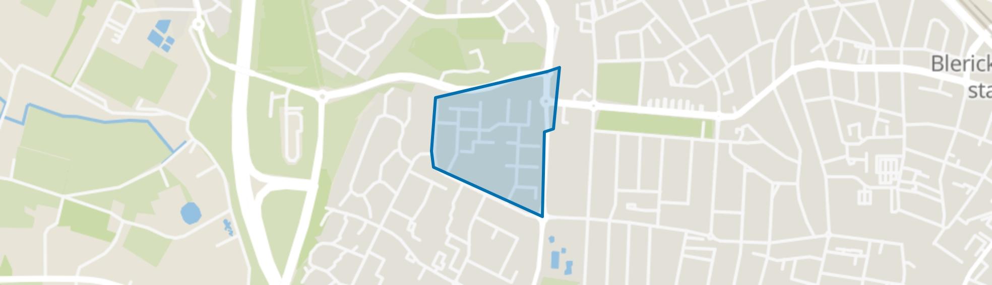 Vossener-Noord, Venlo map