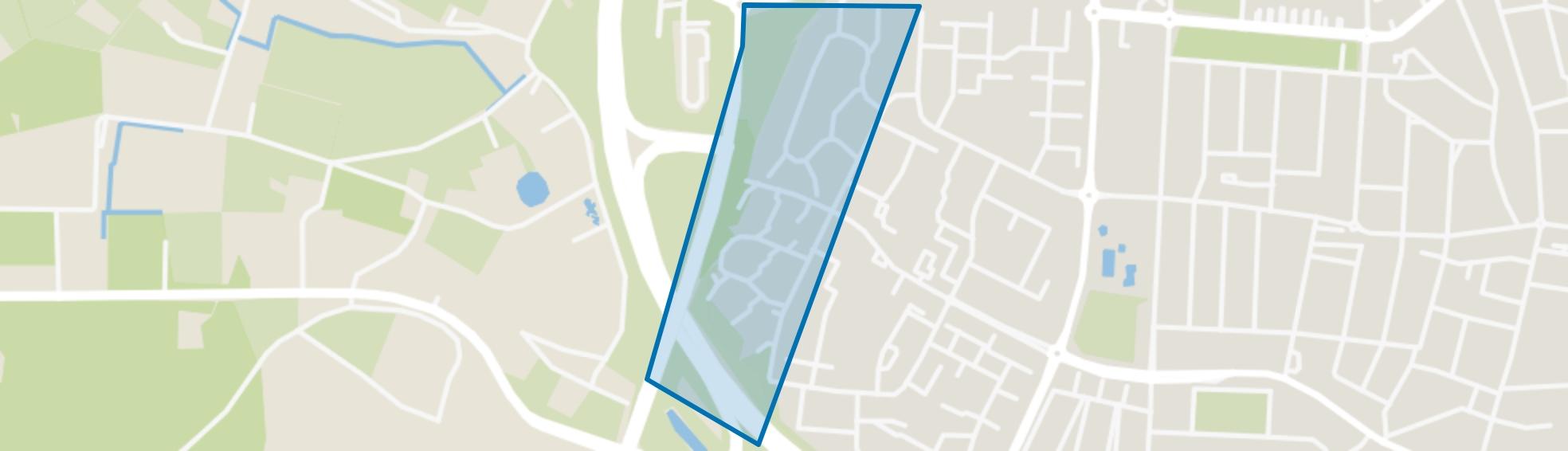 Vossener-West, Venlo map