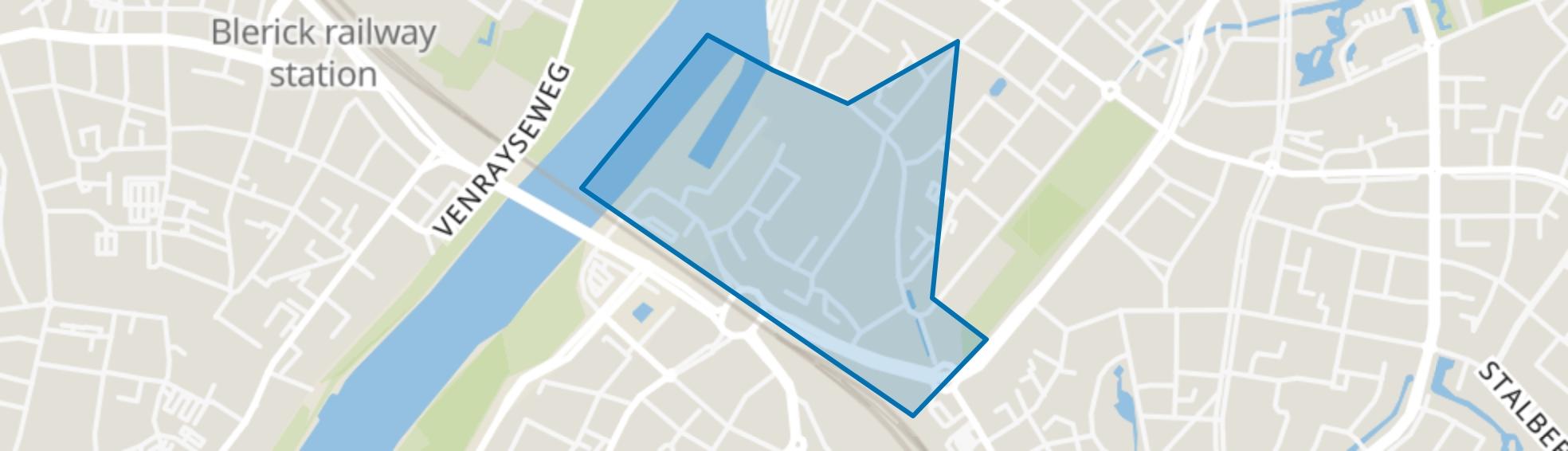 Winkelcentrum, Venlo map