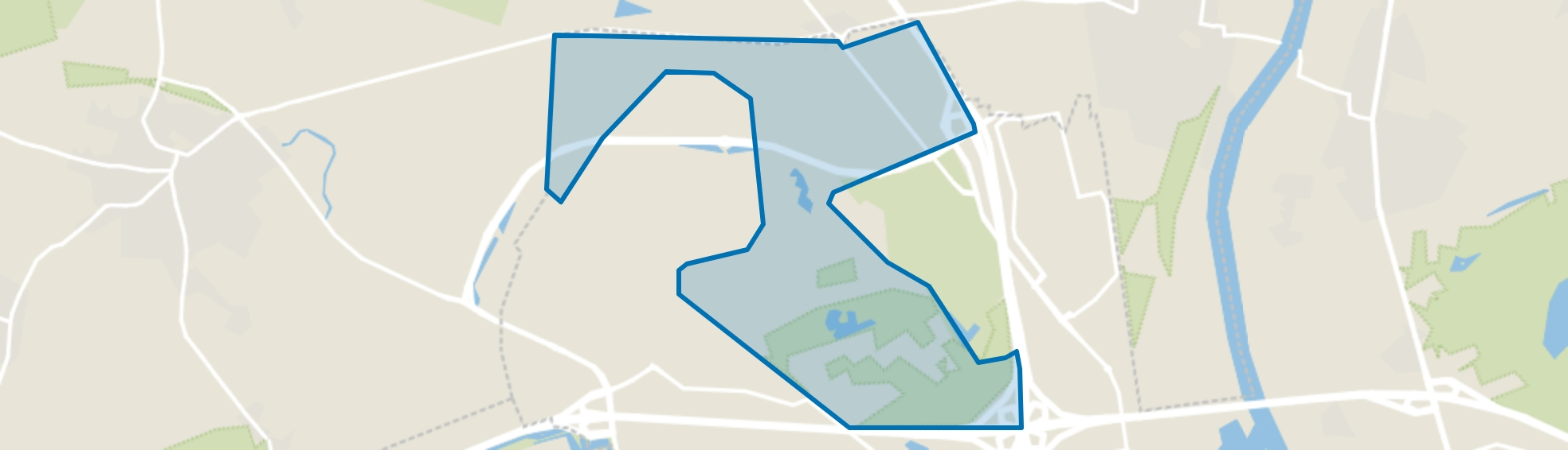 Zaarderheiken, Venlo map