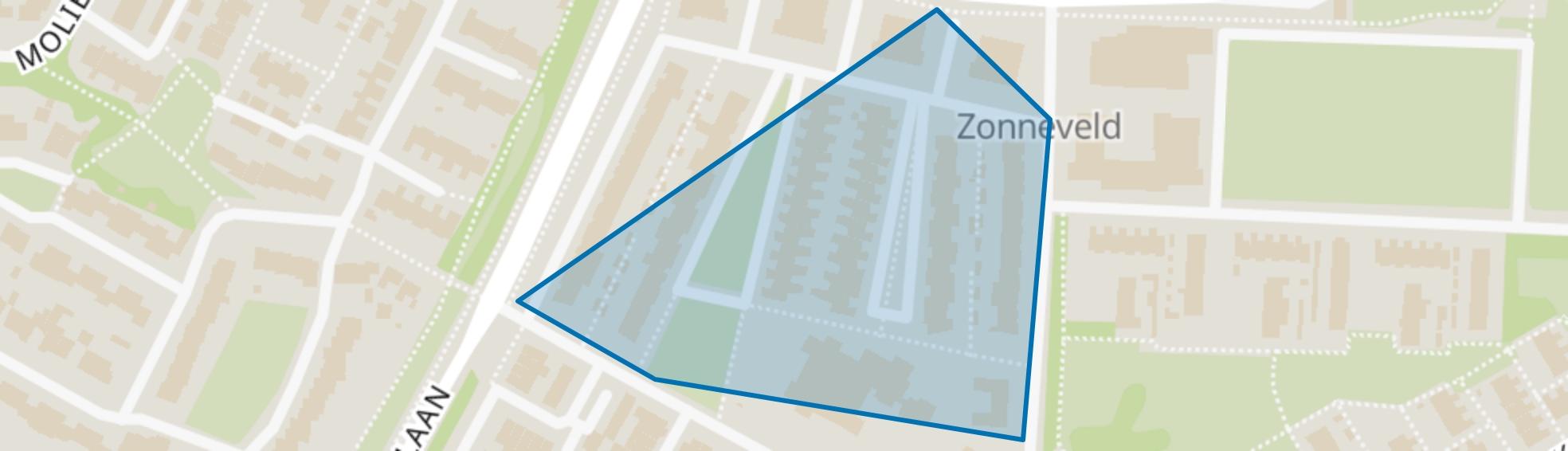 Zonneveld, Venlo map