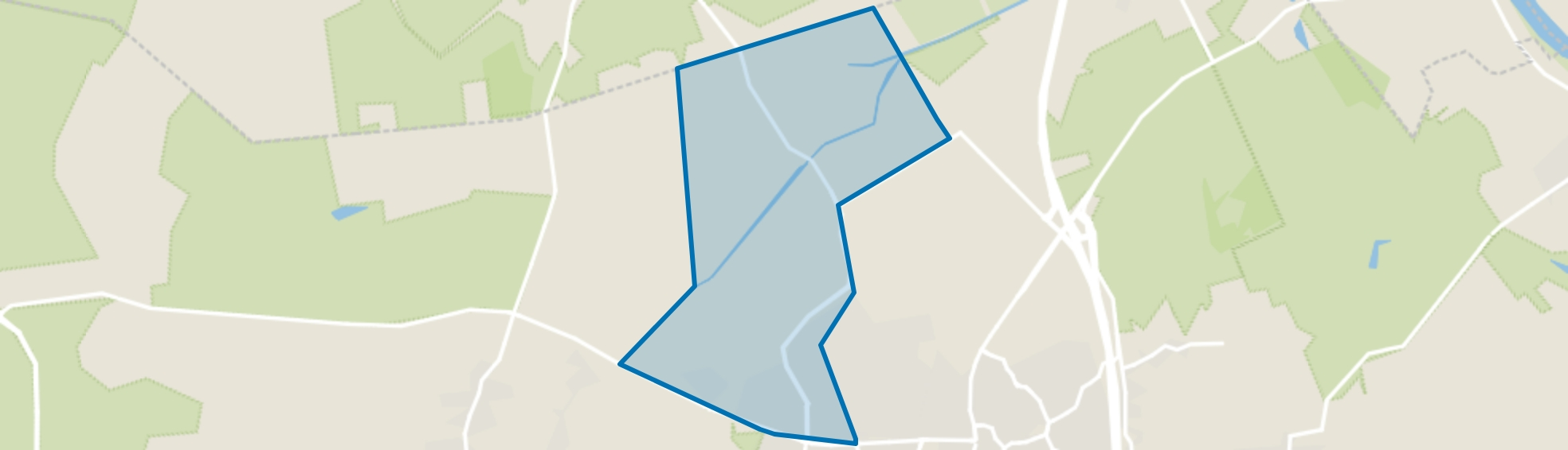 Brabander, Venray map