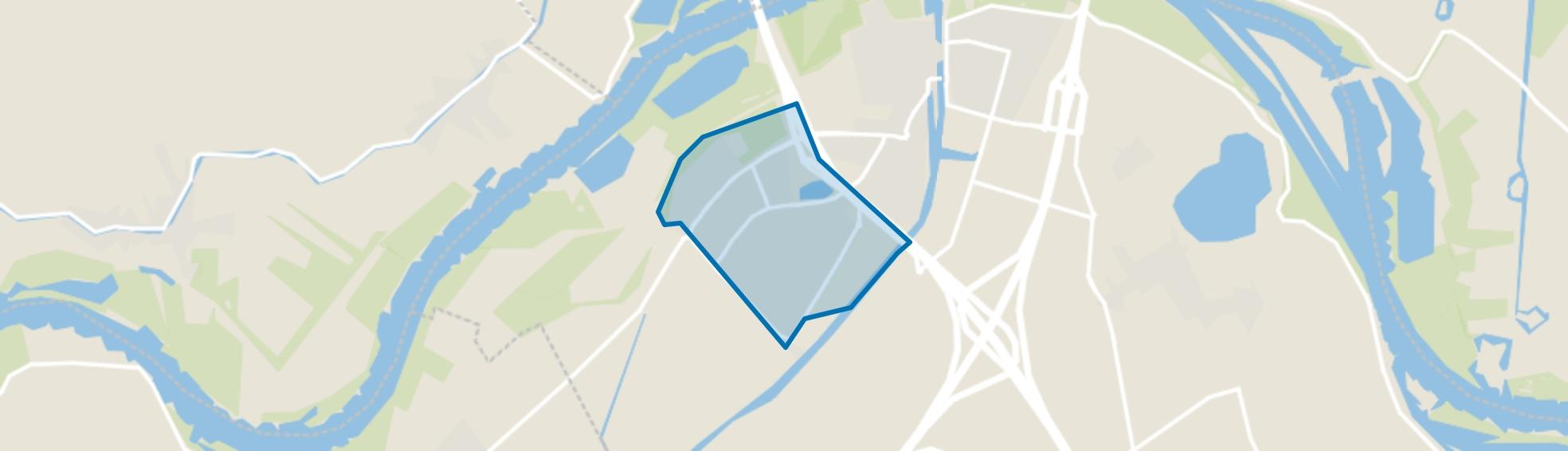 Monnikenhof en Amaliastein, Vianen (UT) map